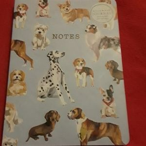 Dog journal,  lined. BUNDLE ONLY